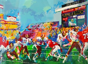 In the Pocket AP 1988 Limited Edition Print - LeRoy Neiman