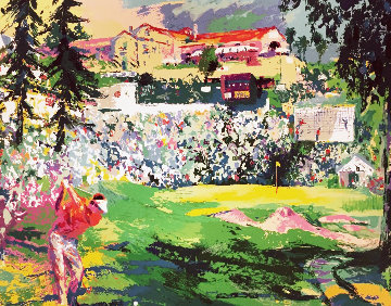 Amphitheater At Riviera Golf Course 1992 Limited Edition Print - LeRoy Neiman