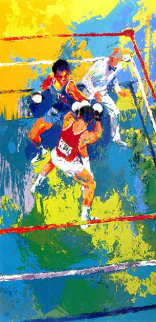 Olympic Boxers 1980 Limited Edition Print - LeRoy Neiman