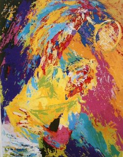 Power Serve 1981 Limited Edition Print - LeRoy Neiman