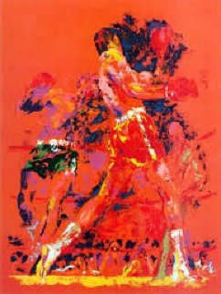 Red Boxers Limited Edition Print - LeRoy Neiman