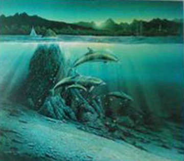 Kona Dawn 1981  Limited Edition Print - Robert Lyn Nelson