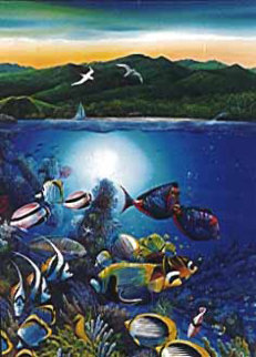 Colors of Hamoa PP 1995 Limited Edition Print - Robert Lyn Nelson