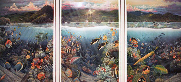 Undersea Symphony of Hana 1996 Limited Edition Print - Robert Lyn Nelson