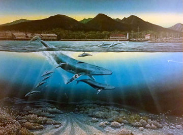 Maui Daybreak 1984 Limited Edition Print - Robert Lyn Nelson