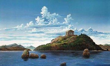 Athenian Odyssey, Set of 2 1985 Limited Edition Print - Robert Lyn Nelson