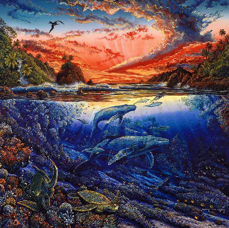 Hana's Secret Magic Limited Edition Print by Robert Lyn Nelson
