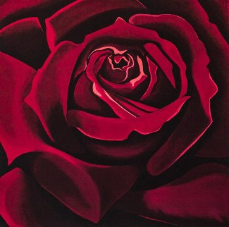 Rose 1978 Limited Edition Print - Lowell Blair Nesbitt