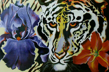 Tiger Lily 1981 Limited Edition Print - Lowell Blair Nesbitt