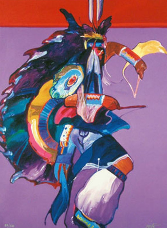 Traditional Dancer I and II Set of 2 Giclees 2008