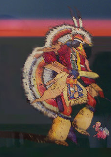 Untitled Indian Dancer Limited Edition Print - John Nieto