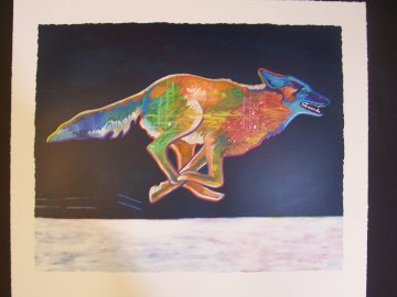 Higher (Coyote) 2002 Limited Edition Print - John Nieto