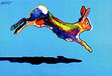 Swifter (Rabbit) 2002 Limited Edition Print - John Nieto