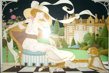 Lady Libelluia Limited Edition Print - Philippe Noyer