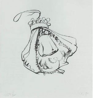 Double-nose Purse Punching Bag 1970 Limited Edition Print - Claes Thure Oldenburg