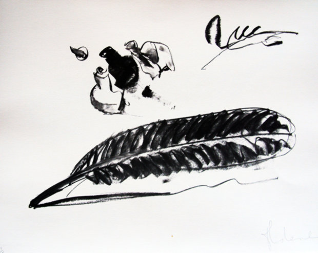 Feather And Ink-Well