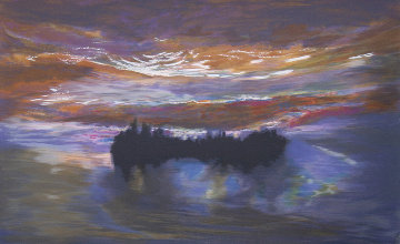 Lumious Dawn 1997 Limited Edition Print - Jules Olitski