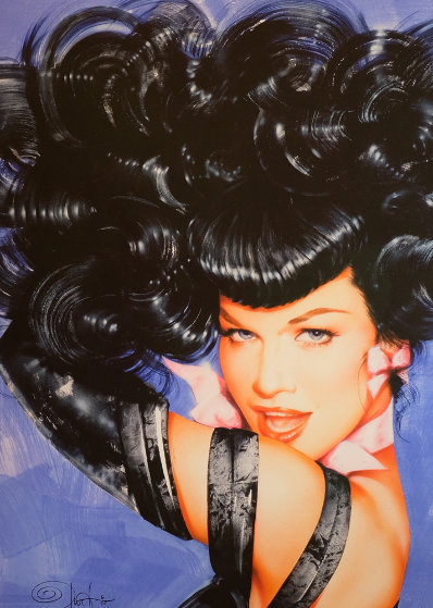 Bettie Page's Eyes 2010