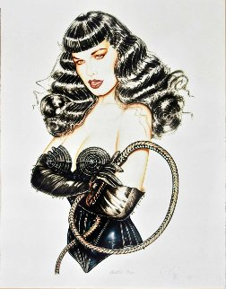 Stinger  Bettie Page  2002 Limited Edition Print - Olivia De Berardinis