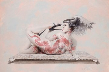 Red Dragon 2000 Limited Edition Print - Olivia De Berardinis