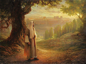 Wherever He Leads Me 2001 Limited Edition Print - Greg Olsen
