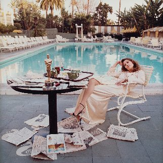 Faye Dunaway AP 1977 HS Photography - Terry Oneill