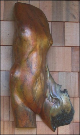 Daphne Bronze Sculpture 40 in