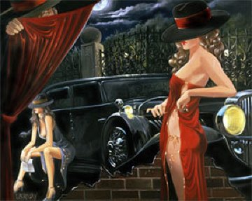 Puppeteer 2003  Limited Edition Print - Victor Ostrovsky