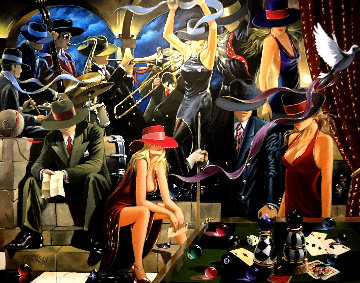 End Game AP 2003 Limited Edition Print - Victor Ostrovsky