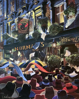 Norman\'s Restaurant 2001 Limited Edition Print - Victor Ostrovsky