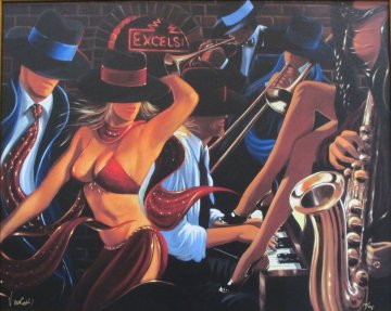 Speakeasy II Limited Edition Print - Victor Ostrovsky