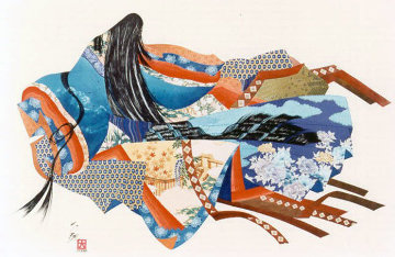 Legend of the Twelve Kimonos 1984 Limited Edition Print by Hisashi Otsuka