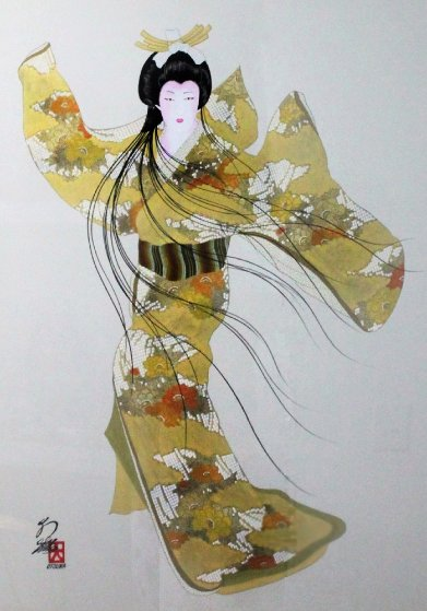 Lady Mieko of Autumn, Pose 2 50x40