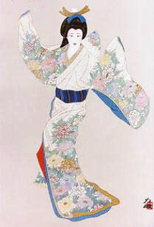 Lady Mieko of Summer Limited Edition Print - Hisashi Otsuka