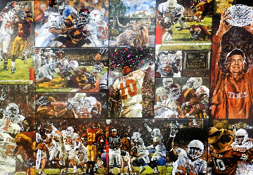 Texas National Championship 2005-6 Limited Edition Print - Opie Otterstad
