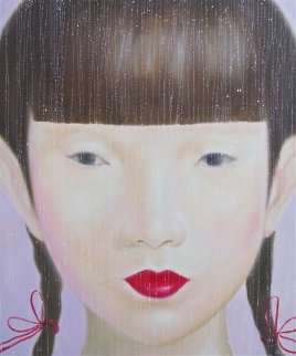 Beauty of Asia I 2012 47x40 Original Painting -  Ouaichai