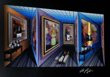 Fine Wine - Art in Motion 3-D 2015 Limited Edition Print - Dominic Pangborn