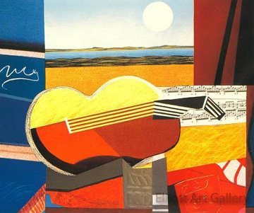 Guitare I   Limited Edition Print - Max Papart