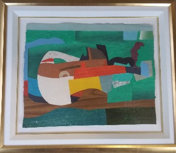 Hommage a Picasso I 1993 Limited Edition Print - Max Papart