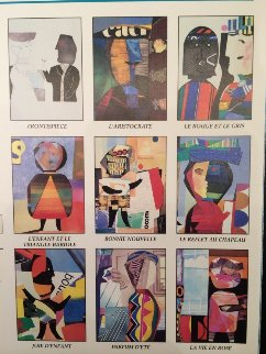 Un Lot De Joyeuses Affiches Suite (9 Prints) 1987 Limited Edition Print - Max Papart
