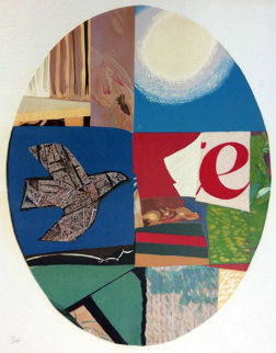 Oval Bird 1982 Limited Edition Print - Max Papart