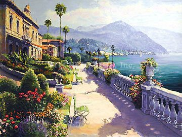 Lake Como Promenade 2000 Limited Edition Print - Sam Park