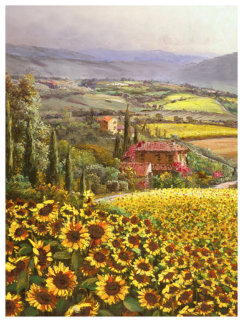 Girasole 2013 Embellished Limited Edition Print - Sam Park