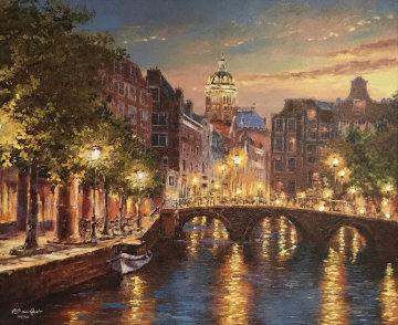 Sunset of Amsterdam 2018 Limited Edition Print - Sam Park