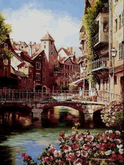 Annecy PP Limited Edition Print - Sam Park