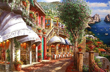 Afternoon in Capri PP Limited Edition Print - Sam Park