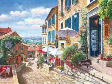 Streets of St. Emilion PP Limited Edition Print - Sam Park