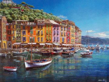 View of Portofino 2010 Limited Edition Print - Sam Park