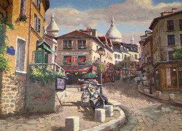 Montmartre, Paris Limited Edition Print - Sam Park