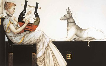 Anubis 1999 Limited Edition Print - Michael Parkes